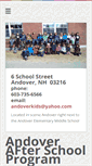 Mobile Preview of andoverkids.org